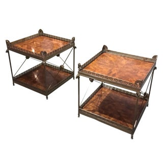 Theodore Alexander Regency Style Lamp Tables - A Pair