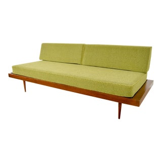 Mid Century George Nelson Style Green Daybed Couch