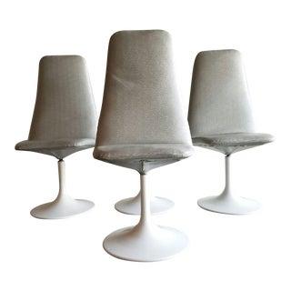 Vintage Tulip Swivel Chairs - Set of 4