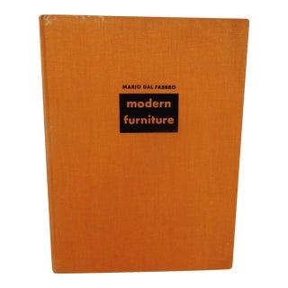 Mario Dal Fabbro 1954 Modern Furniture Book
