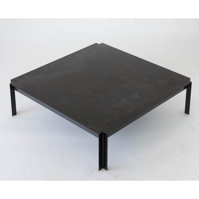 Image of California-Designed Modernist Square Coffee Table