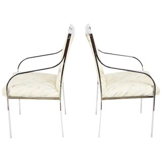 Pair of Milo Baughman Dining Chairs or Side Chairs