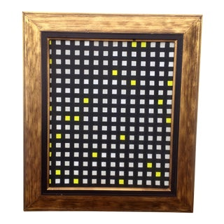 Abstract Grid Painting