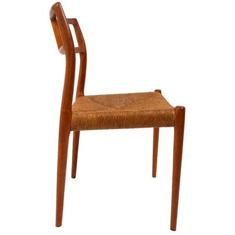 Image of Danish Teak Niels Moller #79 Dining Chairs - S/4