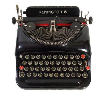 Rejuvenated Remington Model 5 Typewriter