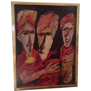 1970's Painting of Male Couple