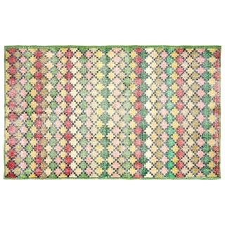 "Turkish Art Deco Rug- 4'11"" x 8'"