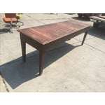 Image of Antique Farmhouse Dining Table