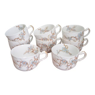 French Haviland Limoges Cups or Mugs - Set of 8