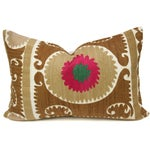 Image of Vintage Suzani Floral Pillow