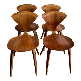 Original Norman Cherner Classic Side Chairs - Set of 4