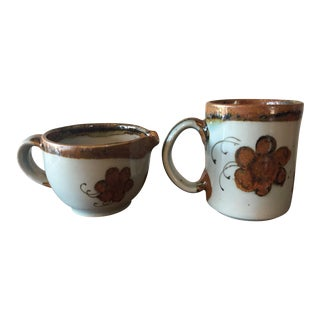 Ken Edwards El Palomar Mug and Creamer- Set of 2
