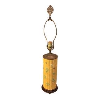 Asian Bamboo Motif Lamp