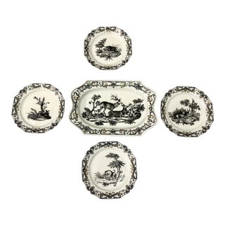 Mottahedeh Hunt Plates - Set of 5