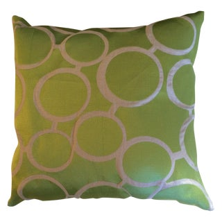 Trina Turk Green Spectacles Pillows - A Pair