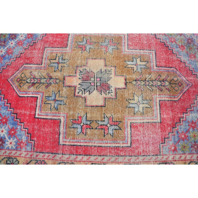 "Turkish Anatolian Oushak Carpet - 41"" x 53"" - Image 5 of 6"