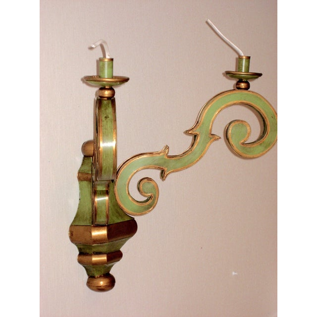 Image of Jm Piers Italian 2-Arm Sconce - A Pair