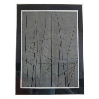 """Artist Eugene Larkin """"Trees"""" Print"""