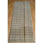 Image of Hand-Knotted Turkish Antique Effect Rug - 3′ X 7′