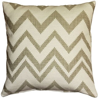 Pillow Decor - Lorenzo Zigzag Cream 20x20 Pillow