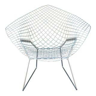 Bertoia Knoll Chrome Diamond Chair