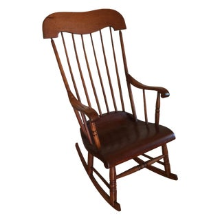 Early 20th-Century Primitive Rocker