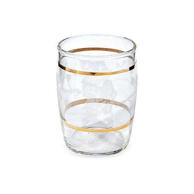 Image of Gilt-Banded Ivy Beverage Set - Set of 5