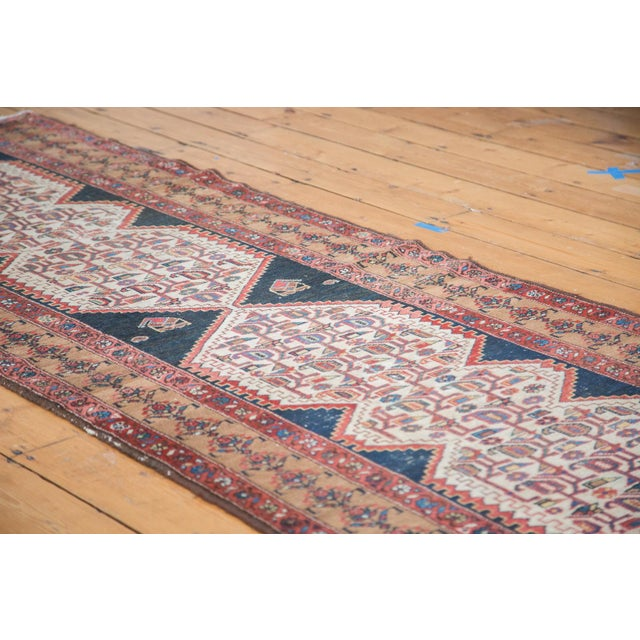 """Distressed Malayer Runner - 3'4"""" X 9'2"""" - Image 3 of 10"""