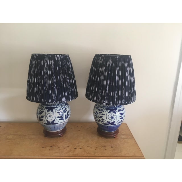 Chinoiserie Ginger Jar Lamps - A Pair - Image 8 of 8