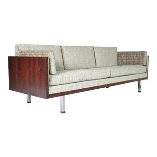 Rosewood Case Tuxedo Sofa