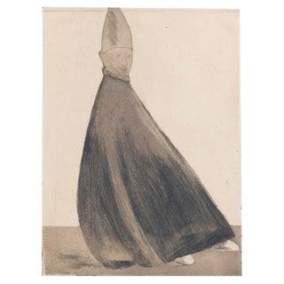 """Giacomo Manzu """"Cardinal Seduto"""""""