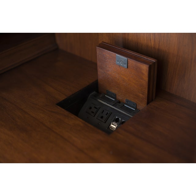 Sligh Maple Two-Piece Desk - Image 5 of 10