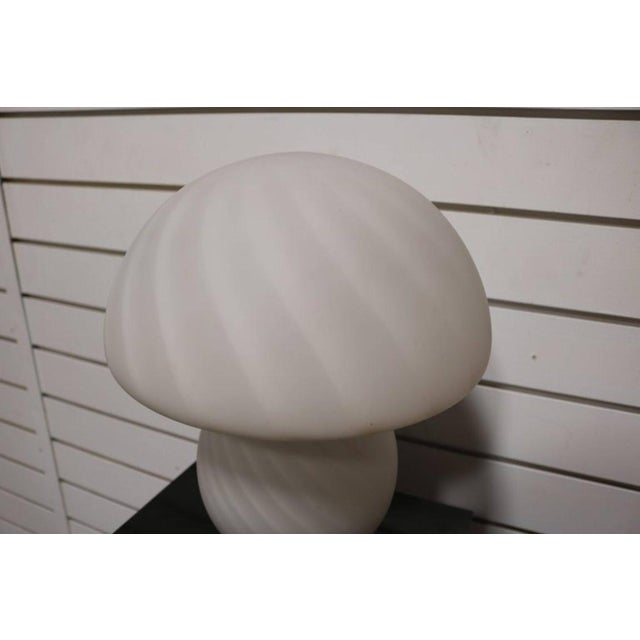 Murano Glass Mushroom Lamp - Image 3 of 7