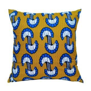 Sample Sale Wax Print Floor Pillows - a Pair