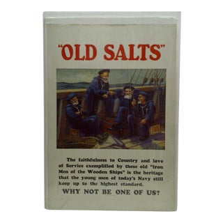 C. 1930 Old Salts U.S. Navy Recruiting Poster