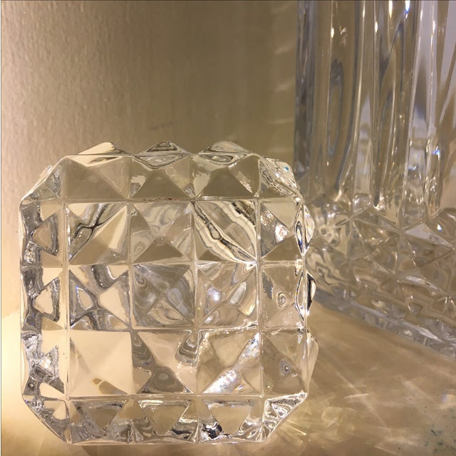 Diamond Glass Decanters - Image 5 of 8