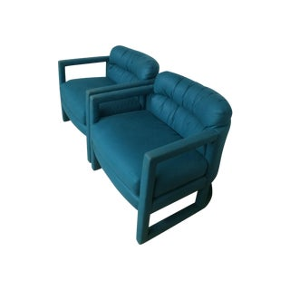 Peacock Dansen Club Chairs - A Pair