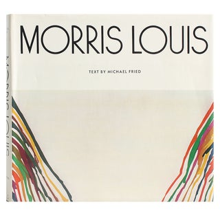 Morris Louis by Michael Fried Art Book