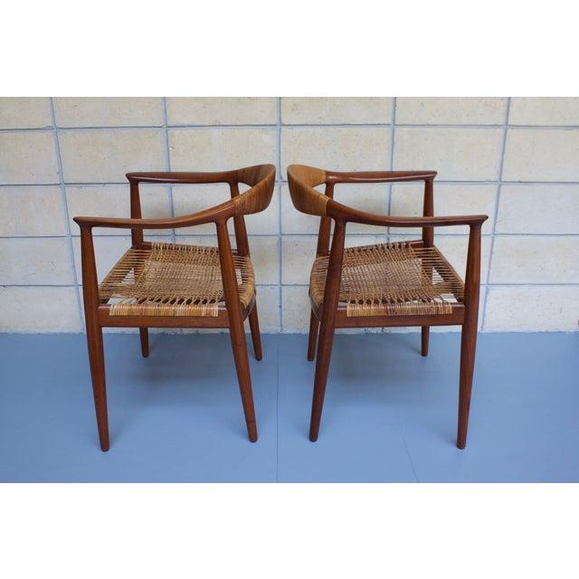 Image of Hans Wegner Johannes Hansen 'The Chair' - A Pair