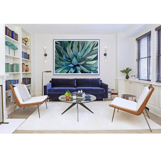 Agave Americana Acrylic Painting - Image 2 of 10