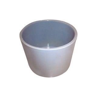Gainey Ceramics Blue Architectural Pottery Planter