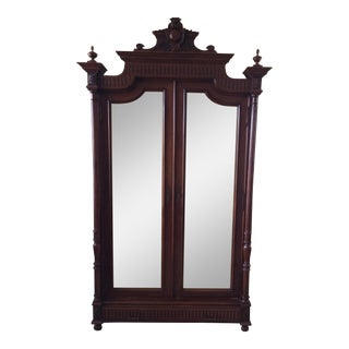 1800`s French Oak Armoire