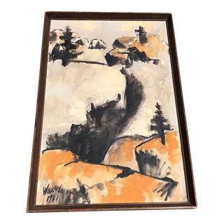 'Winter Landscape' Painting