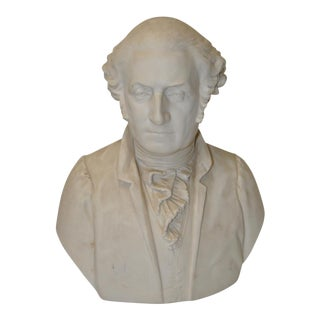 19th-Century Bisque Bust by John Alexander Paterson MacBride