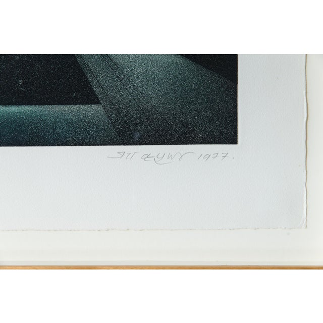 1977 Signed Abstract Lithograph - Image 6 of 7