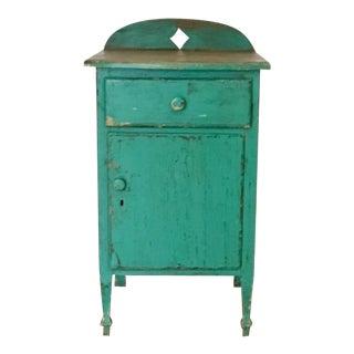 Antique Santa Fe Turquoise Cabinet
