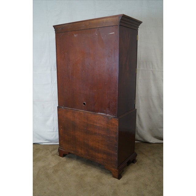Image of Councill Craftsman Chippendale Armoire