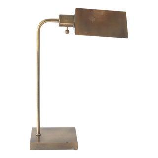 Vintage Brass Pharmacy Lamp