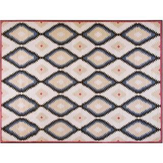 Diamond Navajo Style Rug - 10′ × 14′