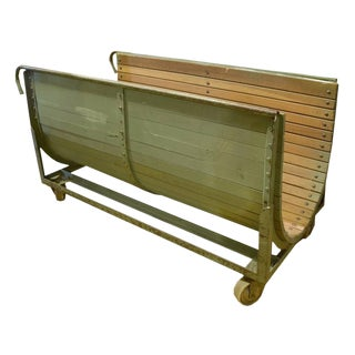 French Steel and Wood Cart